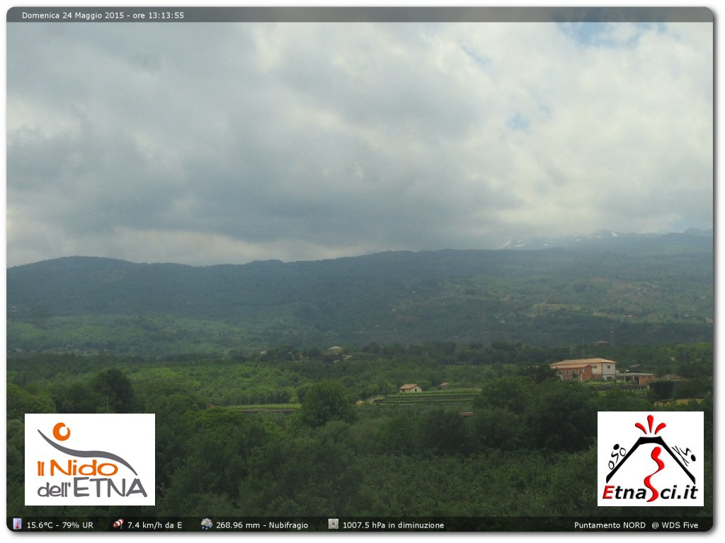 WebCam Etna Nord